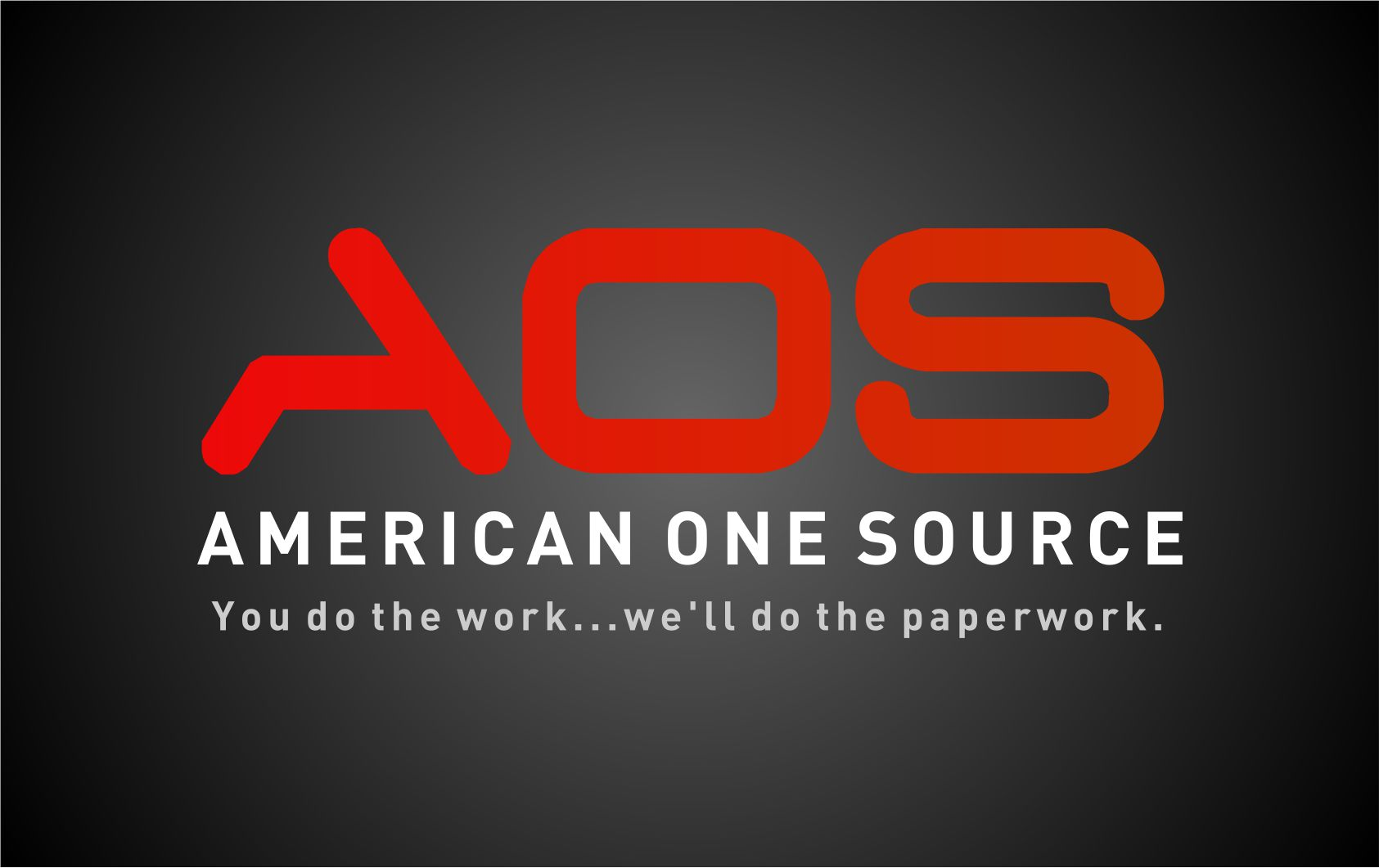 AOS American One Source logo 02